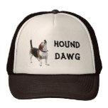 Beagle de Dawg del perro divertido Gorras