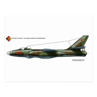 Beagle de Ilyushin Il-28 del germanooriental Tarjetas Postales