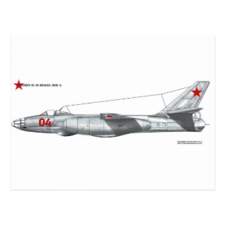 Beagle de Unión Soviética Ilyushin Il-28 Postales