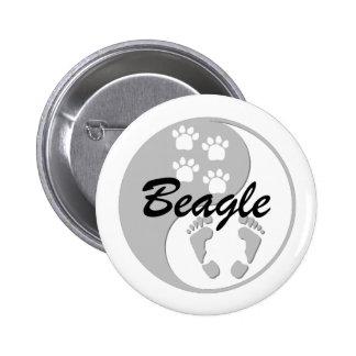 beagle de yang del yin pins