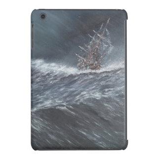Beagle del HMS en una tormenta del cabo de Hornos Fundas De iPad Mini