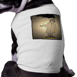 Beagle del metro del vintage playera sin mangas para perro