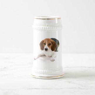 Beagle Dog Beer Stein 18 Oz Beer Stein