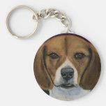 Beagle - Dog Breed Art Keychains