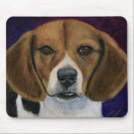 Beagle - Dog Breed Art Mousepad