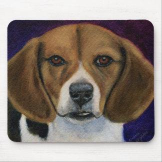Beagle - Dog Breed Art Mousepad