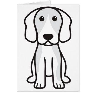 Beagle Dog Cartoon Stationery Note Card