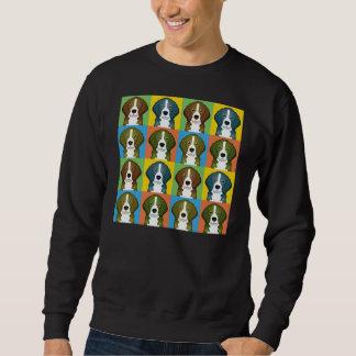 Beagle Dog Cartoon Pop-Art Sweatshirt