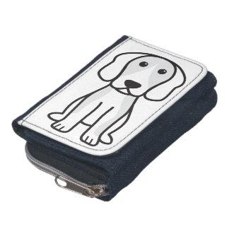 Beagle Dog Cartoon Wallets