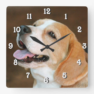 Beagle Dog Wall Clocks