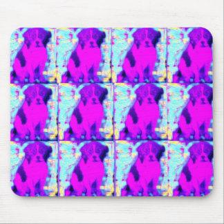 beagle dog collage mouse pad