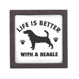 beagle dog design gift box