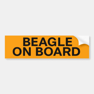 Beagle Dog Hound Remix Custom Bumper Stickers