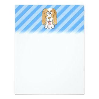 Beagle Dog. Personalized Announcements