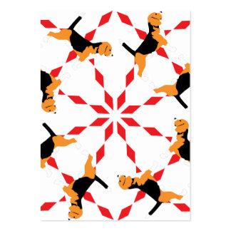 Beagle Dog Large Business Card