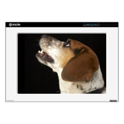 17' Laptop Skin for Mac & PC with Beagle Phone Cases design