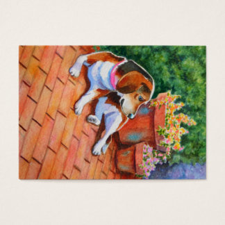 Beagle Double Sided ACEO Print Business Card