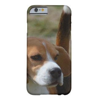 Beagle dulce estupendo funda de iPhone 6 barely there