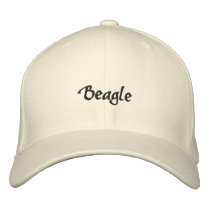 Beagle Embroidered Baseball Cap