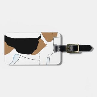 Beagle Etiqueta Para Maleta