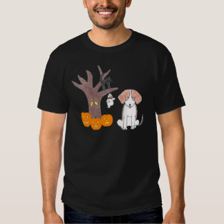 Beagle Fall Black T-Shirt