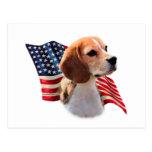 Beagle Flag Postcards