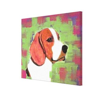 Beagle Gallery Wrap Canvas