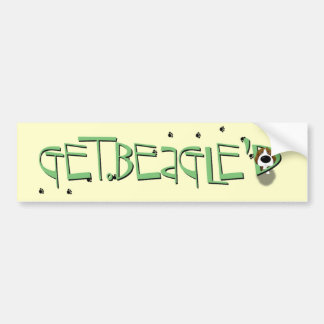 Beagle - Get Beagle'D Bumper Stickers