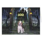 Beagle Halloween Greeting Card