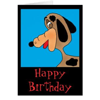 beagle, Happy Birthday Card