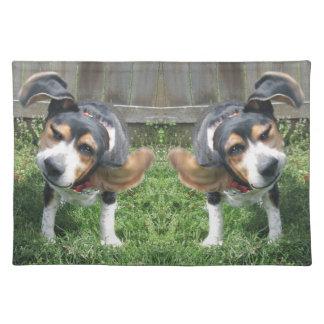 Beagle Happy Dance Place Mat