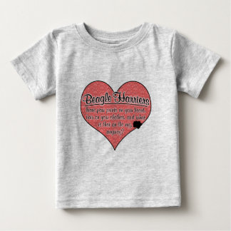 Beagle Harrier Paw Prints Dog Humor Tshirts