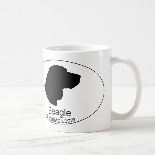 Poodle Head Silhouette Beagle head silhouette coffee