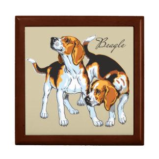 beagle hound trinket boxes