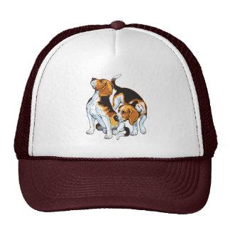 beagle hound mesh hat