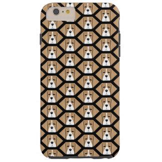 Beagle Hound Honeycomb Pattern Iphone 6 Plus Case