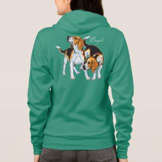 beagle hound hoodie