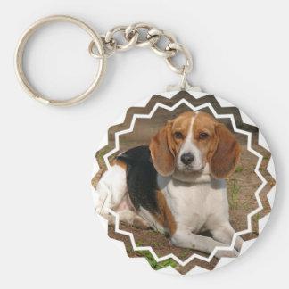 Beagle Hound Keychain