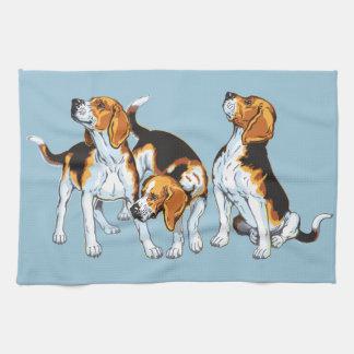 beagle hound towels