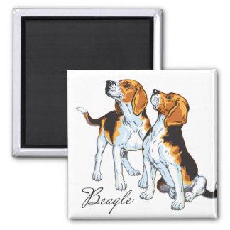 beagle hound fridge magnets