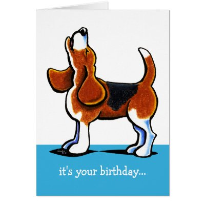 beagle birthday card by focus for a cause  zazzle, Birthday card