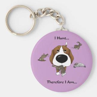 Beagle - I Hunt... Keychain