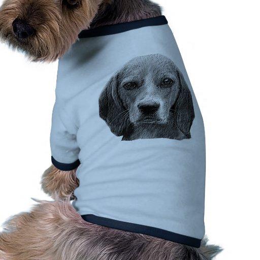Beagle - imagen estilizada ropa para mascota