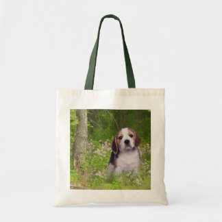 Beagle In Forest Tote Bag