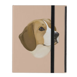 Powis iCase iPad Case with Kickstand with Beagle Phone Cases design