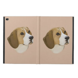 Beagle in Portrait Powis iPad Air 2 Case