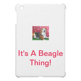 Beagle iPad Mini Cover