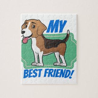 Beagle is my Best Friend Jigsaw Puzzle