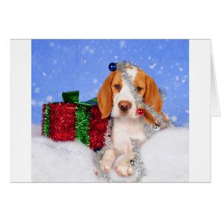 Beagle Jingle Greeting Card