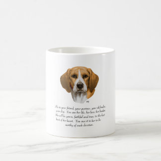 Beagle Keepsake Coffee Mug